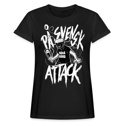 På Svenska Tack - Women's Oversize T-Shirt