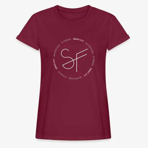 SMAT FIT NUTRITION & FITNESS FEMME - Camiseta holgada de mujer