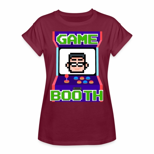 GameBooth Icon Logo - Women's Oversize T-Shirt