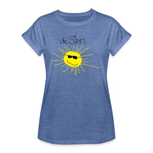 De Sjon - Vrouwen oversize T-shirt