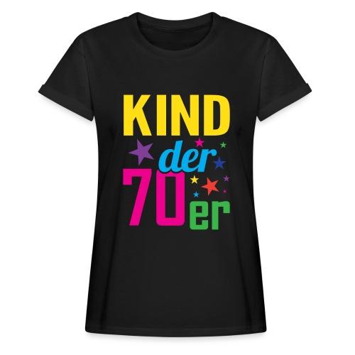 Kind der 70er - Frauen Oversize T-Shirt