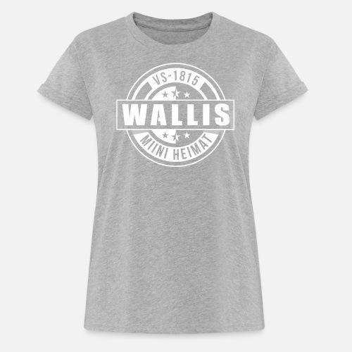 WALLIS - MIINI HEIMAT - Frauen Oversize T-Shirt
