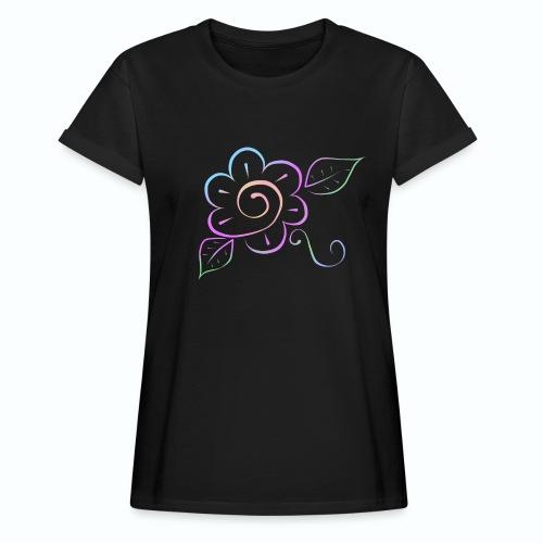 Tonalidades de en flor - Camiseta holgada de mujer