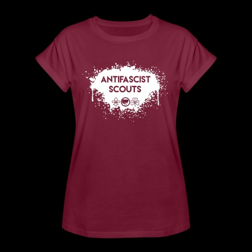 Antifascist Scouts - Women's Oversize T-Shirt