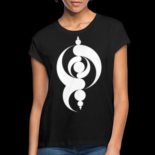 Motif Crop Circle - T-shirt oversize Femme