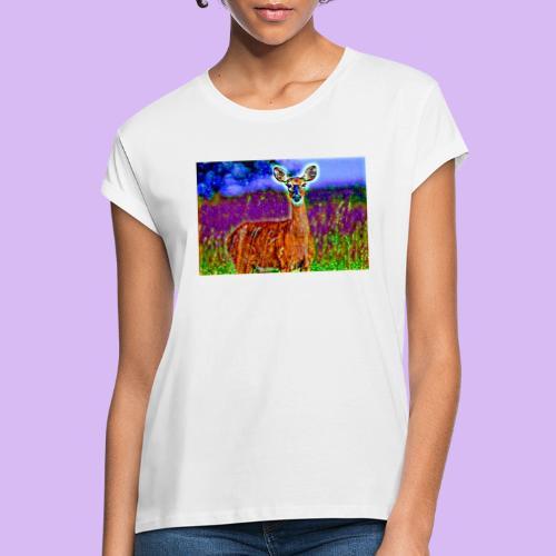 Cerbiatto con magici effetti - Maglietta ampia da donna