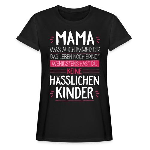 Mama - Kinder <3 - Frauen Oversize T-Shirt
