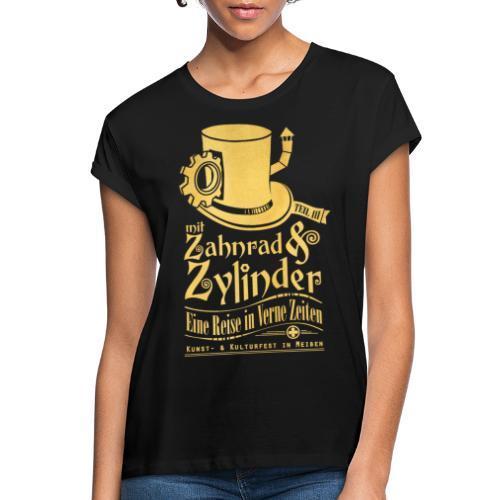 ZuZ 2019 + Brust- & Rückenmotiv - Frauen Oversize T-Shirt
