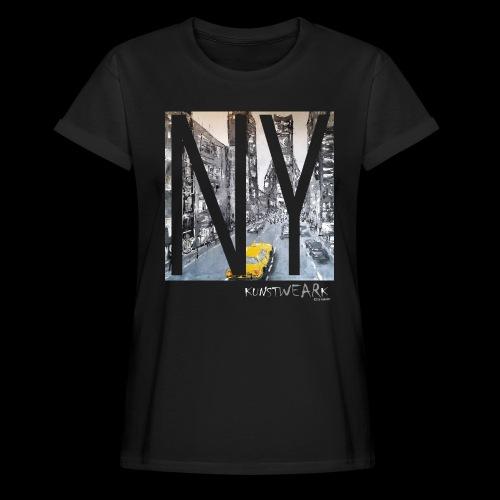 TIME SQUARE - Frauen Oversize T-Shirt