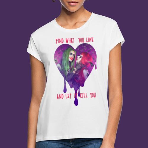 Mad Love - Women's Oversize T-Shirt