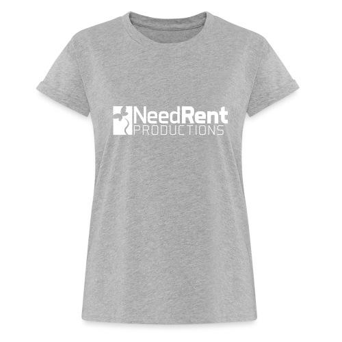 NeedRent Produktions - Dame oversize T-shirt