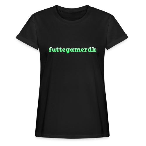 futtegamerdk trøjer badge og covers - Dame oversize T-shirt