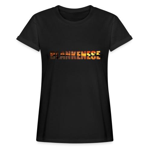 Blankenese Hamburg - Frauen Oversize T-Shirt