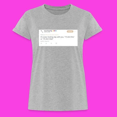 Ieuan Tweet - Women's Oversize T-Shirt