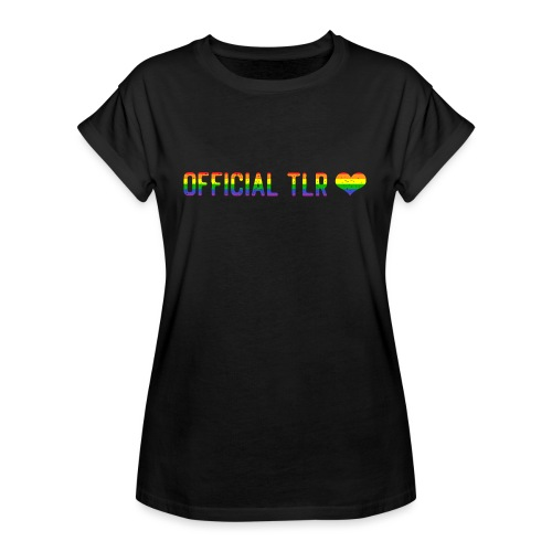 Official TLR Love Merch - Pride Edition - Women's Oversize T-Shirt