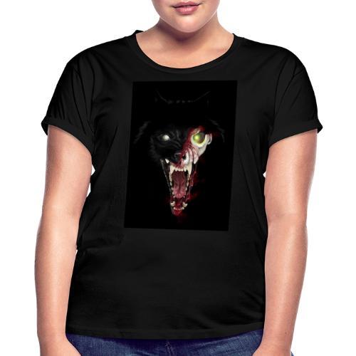 Zombie Wolf - T-shirt oversize Femme