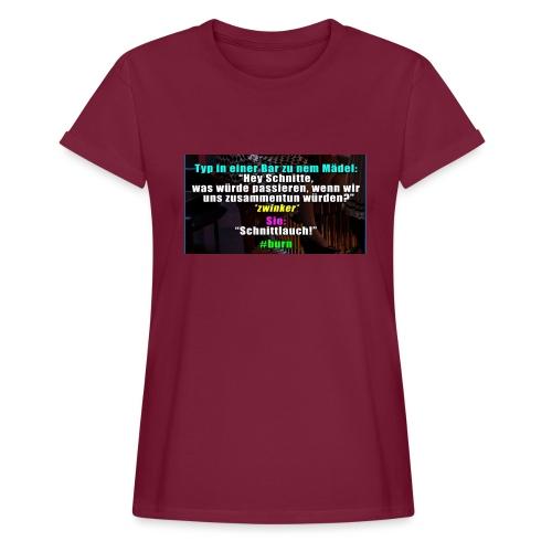SchnitLauch - Frauen Oversize T-Shirt