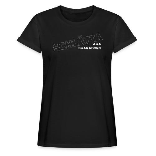 SCHLÄTTA AKA SKARABORG - Women's Oversize T-Shirt