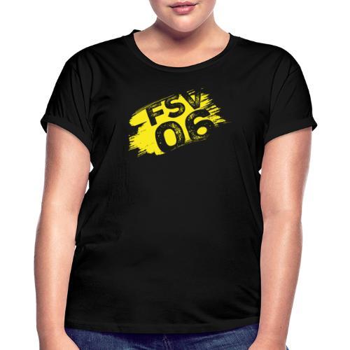Hildburghausen FSV 06 Graffiti gelb - Frauen Oversize T-Shirt