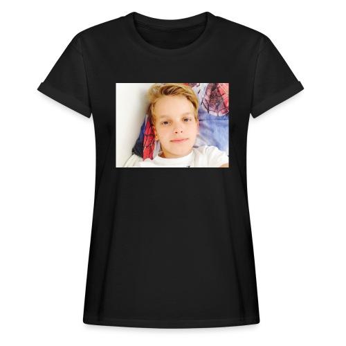 first design - Dame oversize T-shirt