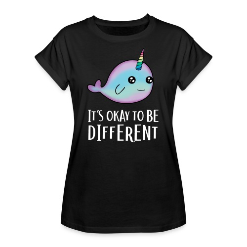 Ok to be Different - Frauen Oversize T-Shirt