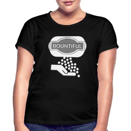 Bontiul gray white - Women's Oversize T-Shirt