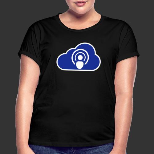 podCloud - Logo 2020 - T-shirt oversize Femme