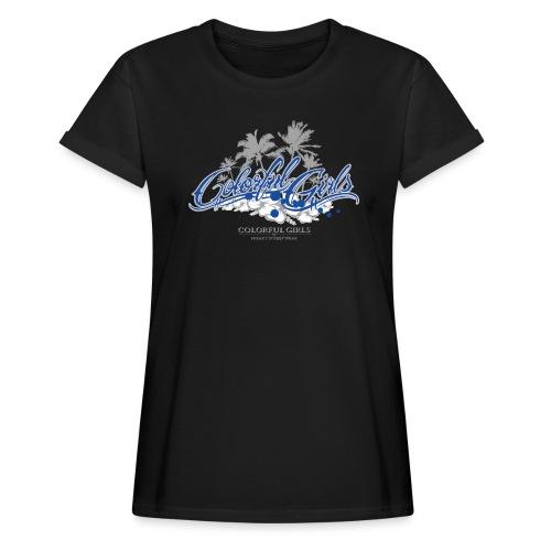 Colorful Girls Logo - Frauen Oversize T-Shirt