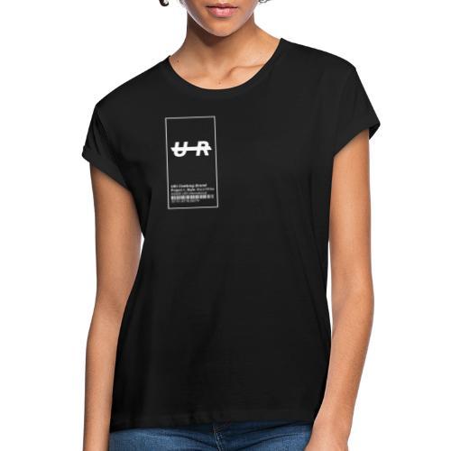 logo up - Frauen Oversize T-Shirt