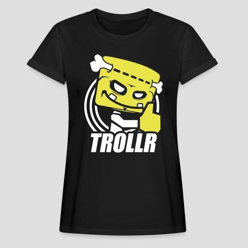 TROLLR Like - T-shirt oversize Femme