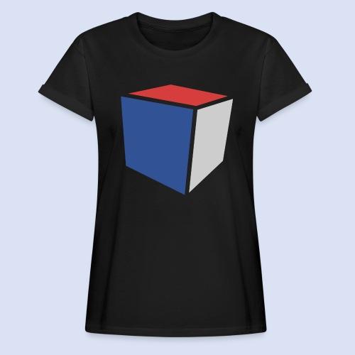 Cube Minimaliste - T-shirt oversize Femme