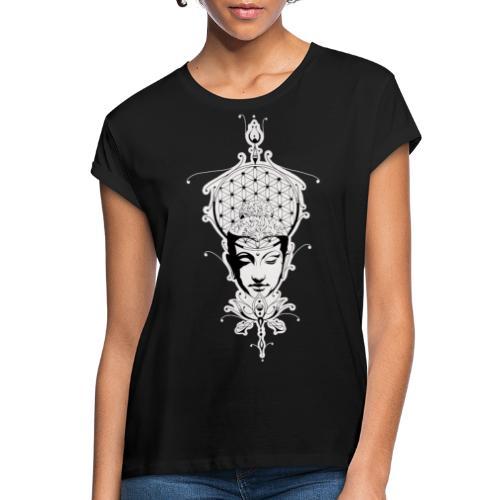 Psychedelicb Buddha with DD44-Logo - Frauen Oversize T-Shirt