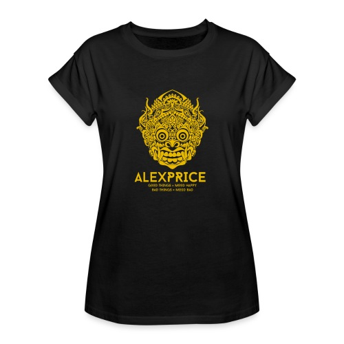 Alex Price - Maglietta ampia da donna