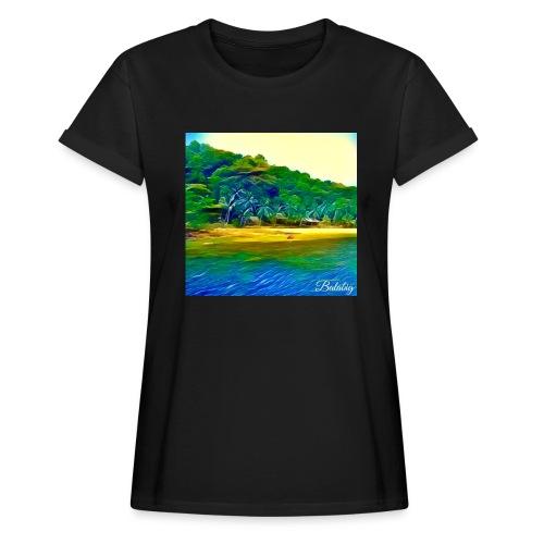 Tropical beach - Maglietta ampia da donna