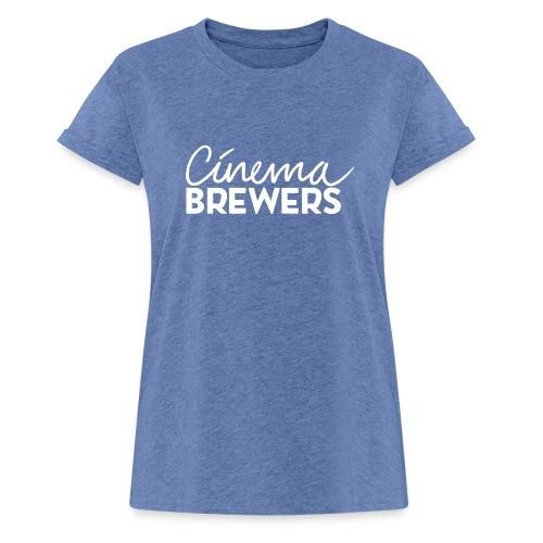 Cinema Brewers - Vrouwen oversize T-shirt