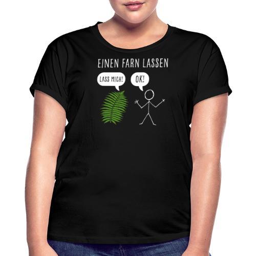 Lustiges Pupsen Furzen Shirt Geschenk witzig - Frauen Oversize T-Shirt