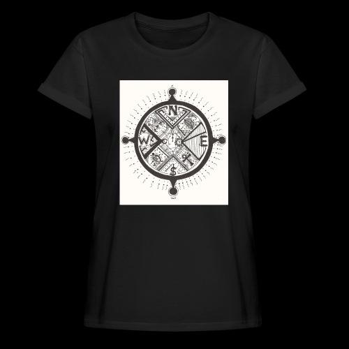 La Maison Des Mains Angel Cove - Women's Oversize T-Shirt