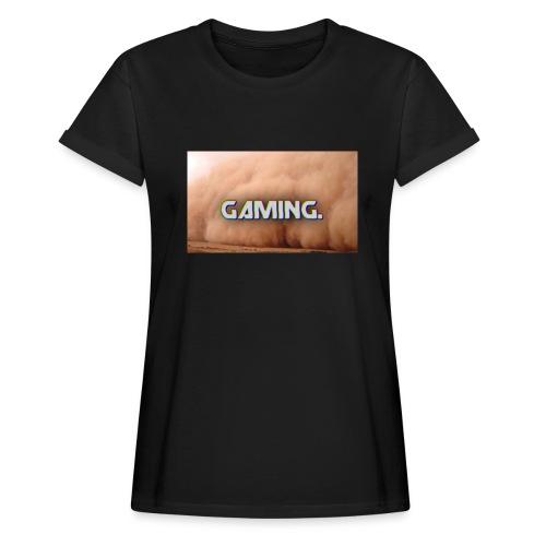 GamingDust LOGO - Women's Oversize T-Shirt