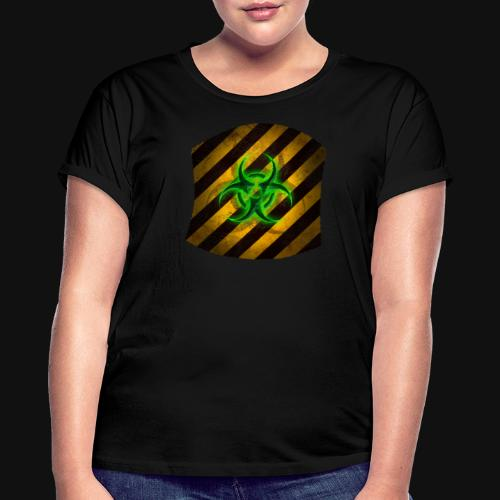 Biohazard v3 - Frauen Oversize T-Shirt