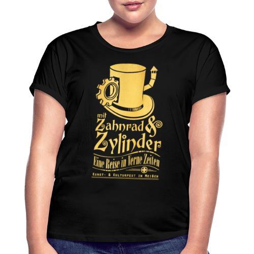 ZuZ 2017 + Brust- & Rückenmotiv - Frauen Oversize T-Shirt
