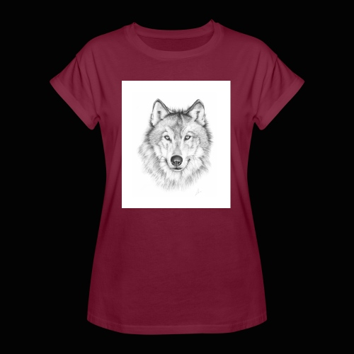 Wolf - Dame oversize T-shirt