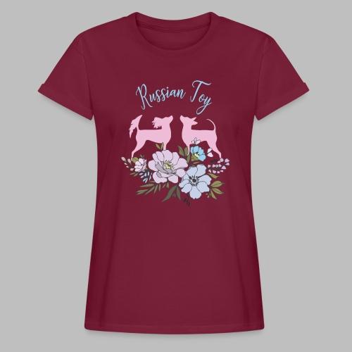 kukkakangas yhdessa2 - Naisten oversized-t-paita