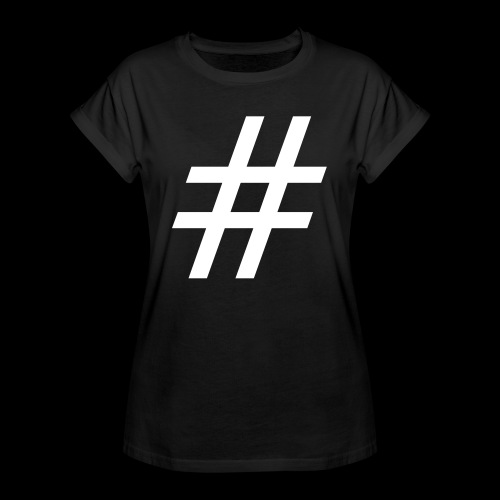 Hashtag Team - Frauen Oversize T-Shirt