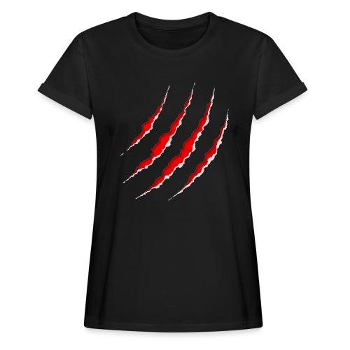 Scars - Dame oversize T-shirt