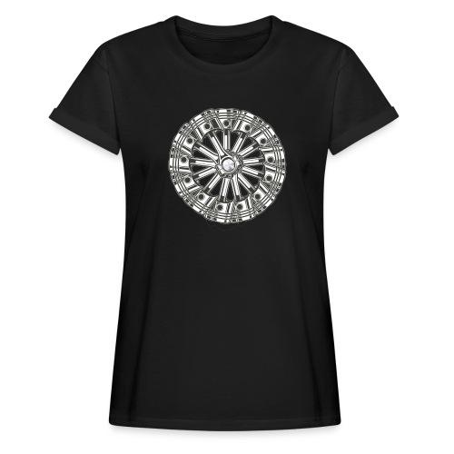 zuiger rol - Vrouwen oversize T-shirt