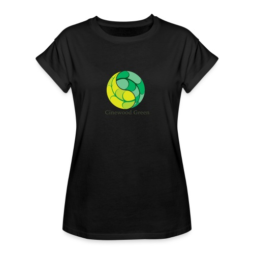 Cinewood Green - Women's Oversize T-Shirt