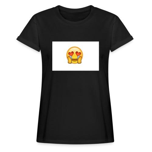 Emoij Hoesje - Vrouwen oversize T-shirt
