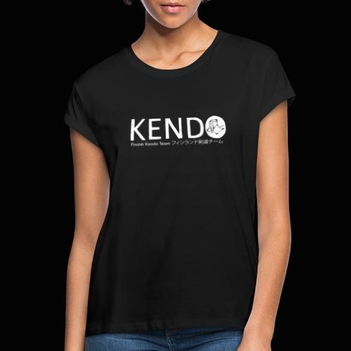 Finnish Kendo Team Text - Naisten oversized-t-paita