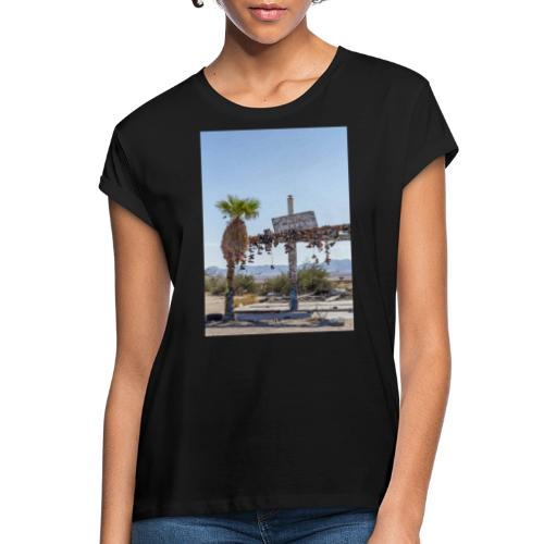 by Mazja Hillestrøm - Dame oversize T-shirt
