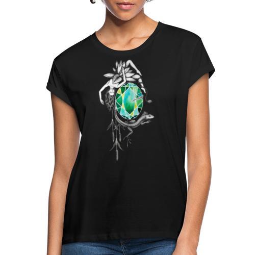 Emerald - Frauen Oversize T-Shirt